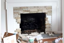 Fireplace makeover / Fireplace