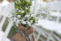 Rustic, country style wedding