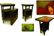 furniture / salvaging the old and adding art