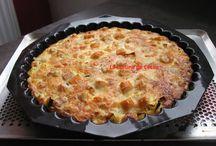 Quiches / pizza / tarte salé