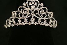 2017 Sparkly tiaras / This Communion is all about the sparkle...check out some of these super sparkly tiaras.