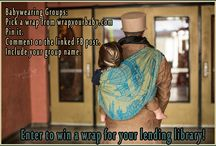Worldwide Babywearing Group Giveaways / This is where I will post monthly giveaways to groups and staying tuned to this board means you can make sure your group doesn't miss out on an opportunity to enter.  Once a month Wrap Your Baby donates a wrap to a Babywearing Group for their Lending Library.  People in that community can try out the wraps and carriers in the LL to see how they like it before buying.