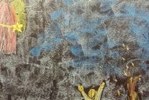 waldorf 1 grade chalkboard