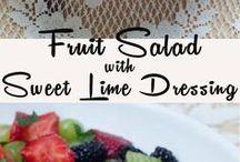 Owocowe sałatki