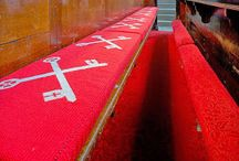 Foam: Church Pews & Kneelers / Foam cut to shape and size for church pews & kneelers.  If you have your own kneeler covers we can cut the foam to fit these or we can cover the foam with fabric selected from our vast range.