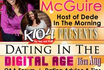 """Events / The Ladies Round Table. August 15-17th,2014  at The Doubletree DFW Airport North www.theladiesroundtable.com   DeDe McGuire from K104FM is hosting """"Dating in the Digital Age"""" event at """"The Ladies Roundtable"""" Conference Expo & Retreat Weekend Saturday, August 16th, 2014 from 5PM - 6PM"""
