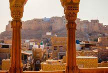The sandcastle city of Jaisalmer