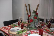 Décoration de table Noël / Idées de DIY pour décorer sa table de fêtes