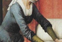 15th century female clothing