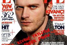 Kıvanç Tatlıtuğ Elle magazine March 2013 / www.facebook.com/KivancTatlitug.Greekfans2