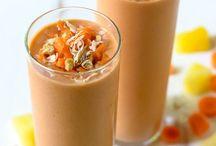 Raw vegan: smoothies
