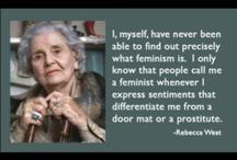 Feminism / by Pat Millner