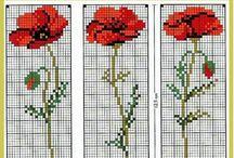 Çarpı İşi (Cross Stitch) / Çeyiz Bulvarı'ndan çeyiziniz için çarpı işi fikirleri.  Cross stitch ideas for your trousseau by Ceyiz Bulvari