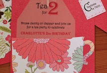 Tea Party / Hosting a Tea Party for Mother's Day, a birthday, or even a women's ministry event? Here are some great ideas!