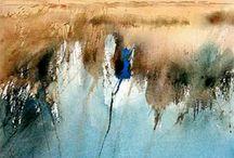 Aquarell Wasser