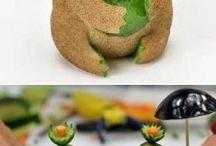 seni pahat buah