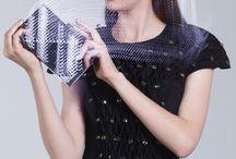 Mirror Handbag and Little Black Dress