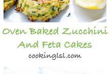 zuchinni cakes