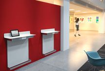 Education - Common Areas / Soft seating & collaboration, reception desks, food service areas