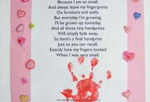 hand/ foot print poems