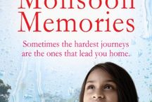 My books / Monsoon Memories, The Forgotten Daughter, The Stolen Girl, A Sister's Promise, A Mother's Secret