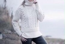 Knitwear / Вязанный свитер, ручная работа бренда Yani