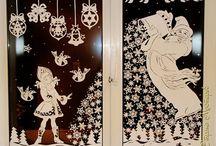 Рождественские окна