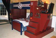 Hockey stuff/bedrooms