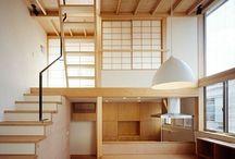 Japanese architecture interior