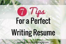 Resume & Career Tips