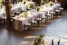 Wedding venue table layout ideas