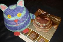 Crochet Cat Doorstop  / DMC Amigurumi Cat Doorstop pattern using Planet Penny cotton yarns www.facebook.com/UnravelandUnwind