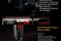 Defensa Personal / Gas Pimienta  Sabre-