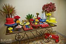 Decoração festa brinquedos