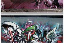 street art / graffitti
