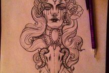 Whitch tattoo