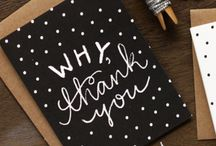 Why Thank You- Cards