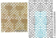 красивые схемы вязания крючком