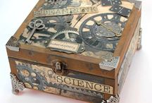 steampunk accessories & furniture