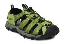 Wildcraft / This pair of sports sandals from Wildcraft is both durable and comfortable for trail walking, hiking or camping. Team it with a pair of shorts or track pants and a printed tee for a sporty look.