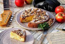 jablkové moučníky - apple dessert
