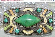 Fabulous vintage Czech jewelry / by Rhinestones Past