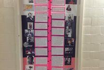 bulletin boards middle school
