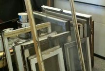 Windo frames for Decor.