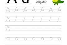Alphabet Worksheets - worksheetskids