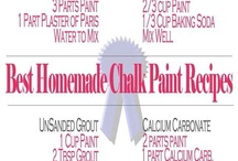 Chalk Paint, uses and recipes / by Kathleen Varano
