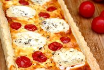 Tartes / Quiches / Pizzas