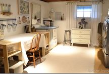 craft room / by Traci Busse