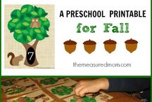 Autumn Pre-School / Learning at home entered around the Fall season