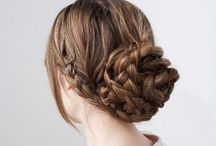 Hair / Different hairstyles for prom, weddings and everydays